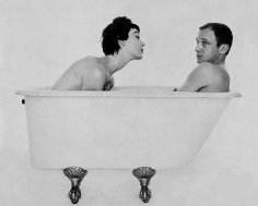 William Helburn, Bill and Dovima in the Tub, during a shoot for Corday, 1958