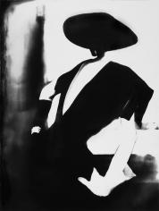 Lillian Bassman, Black - With One White Glove, Barbara Mullen, Dress by Christian Dior, New York, Harper's Bazaar, 1950