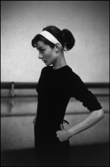 "David Seymour, Audrey Hepburn on the Set of ""Funny Face,"" 1956"