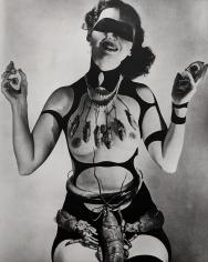 """Horst P. Horst, Costume Design by Salvador Dali for """"Dream of Venus,"""" 1939"""