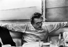 Phil Stern, James Dean with Friends at Googie's Diner, Hollywood, May, 1955