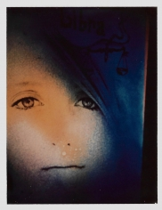 Kali, Beige and Blue Portrait, CA, c. 1970s