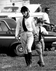 Ron Galella, Jackie Onassis and John F. Kennedy Jr., St. Bernardsville Annual Horse Show, New Jersey, 1970