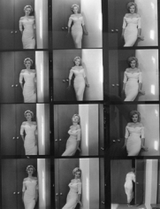 Philippe Halsman,  Marilyn Monroe, 1952 (Contact Sheet)