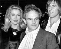 Ron Galella, Catherine Deneuve, Francois Truffaut, and Gerard Depardieu, Avery Fisher Hall at Lincoln Center, New York, 1980