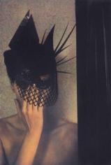 Sheila Metzner, Rosemary. Ungaro Hat. Couture. Vogue. 1985.