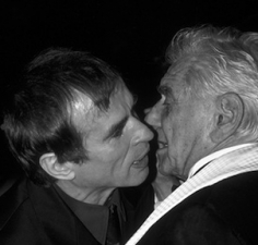 Ron Galella, Leonard Bernstein greets Rudolph Nureyev, Lincoln Center, New York, 1989