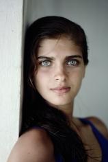 Slim Aarons, Kristie Karbstein Gerep, 1988: Headshot of Kristie Karbstein Gerep in Brazil