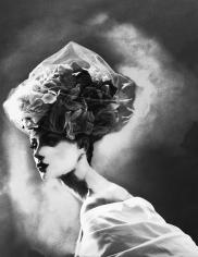 Lillian Bassman, Night Bloom: Olga Pantushenkova in Christian Lacroix Haute Couture, Paris. The New York Times Magazine, 1996