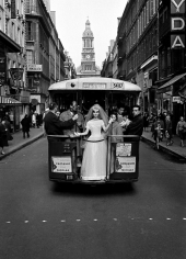 Frank Horvat, Paris Bride, British Vogue, 1961