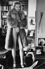 Helmut Newton, Mercedes at Home, Paris, 1975