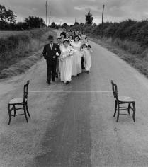 Robert Doisneau, Le Ruban de la Mariee, 1951