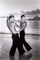 Chris von Wangenheim  Untitled (Two Men Dancing on Beach)
