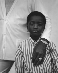 Kurt Markus, Boy in Striped Shirt,  Vicksburg, Mississippi, 1988
