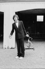 Arthur Elgort, Mick Jagger, Long View Farm, Massachusetts, 1981