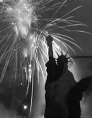 Andre de Dienes, The Statue of Liberty, New York 1944