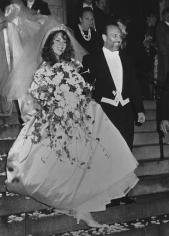 Ron Galella, Mariah Carey marries Tommy Mottola, New York, 1993