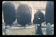 Deborah Turbeville, Selina Blow, Painswick Cemetery, England, 1992