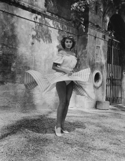 Ormond Gigli, Sophia Loren, Twirling Skirt, 1954