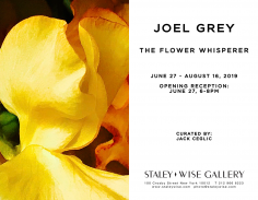 Joel Grey, Exhibition Invitation