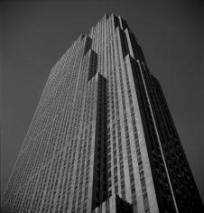 Andre de Dienes,  RCA Building, New York City 1944