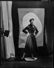 Cecil Beaton, Jean Patchett in Hattie Carnegie, VOGUE, 1949