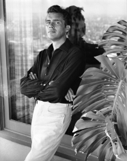 Peter Basch, Dirk Bogarde, Hollywood, 1960