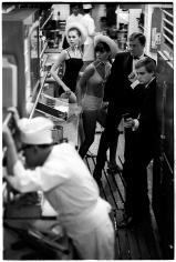 Jerry Schatzberg, Fashion in the Kitchen: Agneta Freiberg, Katherine Carpenter, Robert Vaughn, and David McCallum, 1965