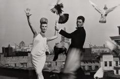 Bert Stern, Rooftops: Dress by Ceil Chapman, VOGUE, 1962