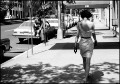 Arthur Elgort, Wendy Whitelaw on Park Avenue, New York, 1981