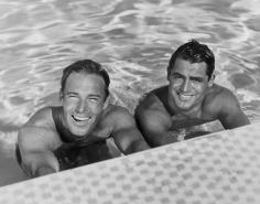 Jerome Zerbe, Cary Grant and Randolph Scott, mid 1930s