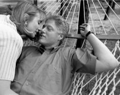 Harry Benson, Bill and Hillary Clinton, Little Rock, Arkansas, 1992
