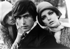 Bob Richardson, Donna Mitchell, Celia Hammond, and Alexis von Waldeck, circa 1965