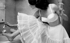 Lillian Bassman The Well-Spent Dollar, Pud, bra by Maidenform, 1956