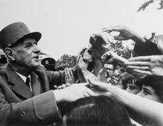 Harry Benson, Charles De Gaulle, Canada, 1967