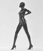 Herb Ritts, Alek Wek, Los Angeles 1998