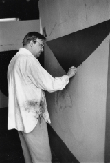 Alexander Lieberman, Robert Motherwell in his studio, 1964