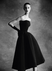 Patrick Demarchelier, Christian Dior Sonnet Dress, Autumn – Winter 1952 Haute Couture Collection, 2013