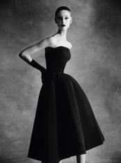 Patrick Demarchelier, Christian Dior Sonnet Dress, Autumn – Winter 1952 Haute Couture Collection, 2013