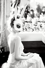 Ellen von Unwerth, White Bunny, 2012