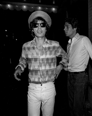 Ron Galella, Mick Jagger at Jerry Hall's Birthday Party, Mr. Chow's restaurant, New York, 1981