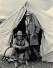Kurt Markus, Shawn Biggs and Rick Erington, Spanish Ranch, Nevada, 1983