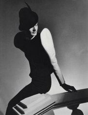 Horst P. Horst, White Sleeve: Clothing and hat by Robert Piguet, Paris, 1936