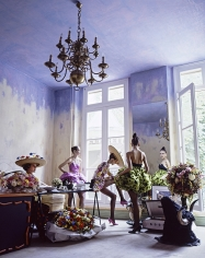 Arthur Elgort, Romance: Christian Lacroix Haute Couture Atelier, 1988