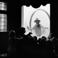 Melvin Sokolsky, School Window, Paris, 1963