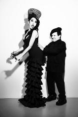Ellen von Unwerth, Rossy de Palma and Azzedine Alaïa for Yo Dona Magazine, 2012