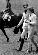 Ron Galella, Jackie Onassis and Caroline Kennedy, St. Bernardsville Annual Horse Show, New Jersey, 1970