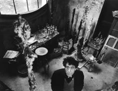 Robert Doisneau, Giacometti dans son Atelier, 1957