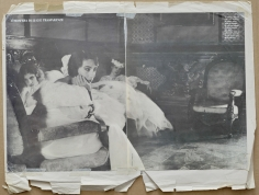 Deborah Turbeville, Anh Duong, Alejandra, and Agathe, VOGUE Sposa, Catania, Sicily, 1985