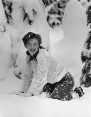 Andre de Dienes, Norma Jeane, Mt. Hood, Oregon, 1945